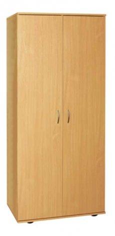 Фото - Шкаф для одежды и книг закрытый 2-дверный