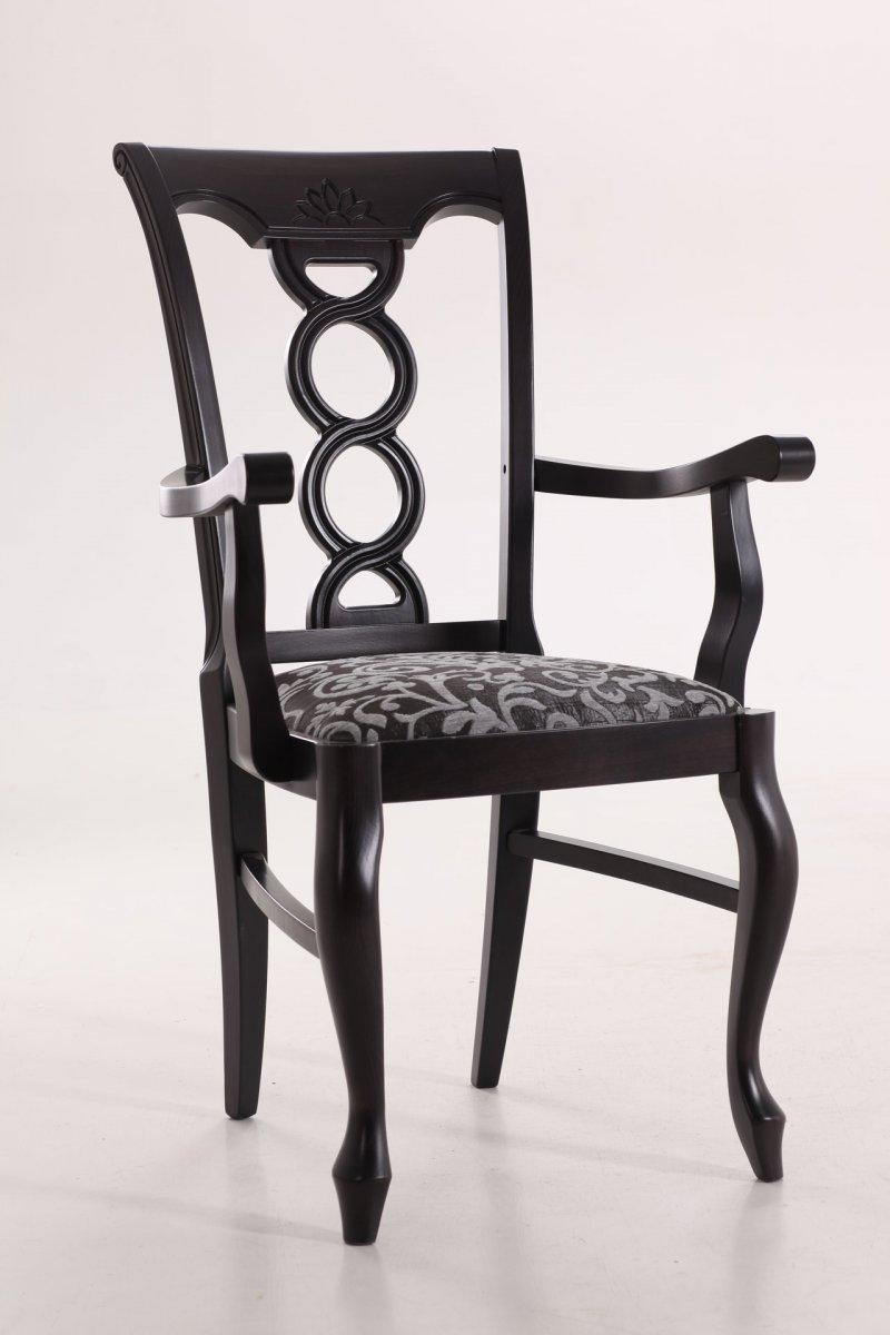 Фото - Деревянный стул Валенсия с подлокотниками