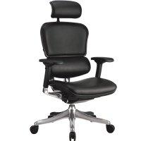 Кожаное компьютерное кресло ERGOHUMAN PLUS