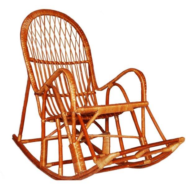 Фото - Кресло качалка из лозы KK-1