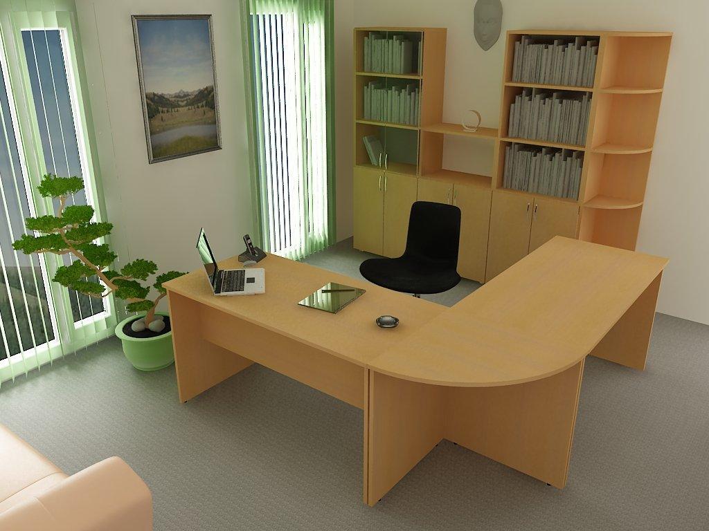 Офисный стол 432 - к-мебель. цена, купить недорого в киеве (.