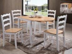 Стол и стулья Сканди