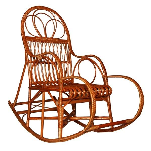 Кресло-качалка из лозы чертежи