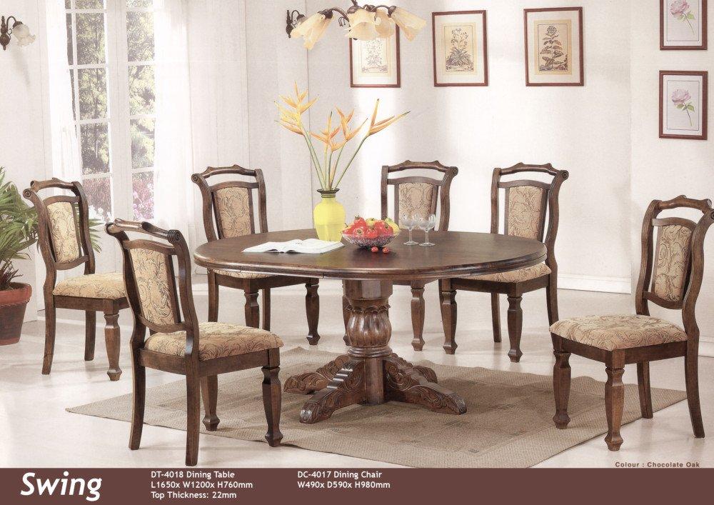 Фото - Деревянные стол и стулья Swing