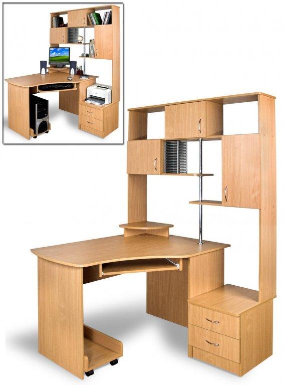 Угловой компьютерный стол Эксклюзив - 5