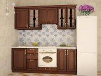 Кухня прямая София. Готовый вариант 1