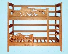 Двухъярусная кровать-трансформер Элен