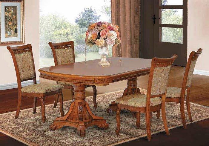 Фото - Комплект стол P22 и стулья 8039