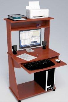 Фото - Компьютерные столы С-555 с надстройкой 827