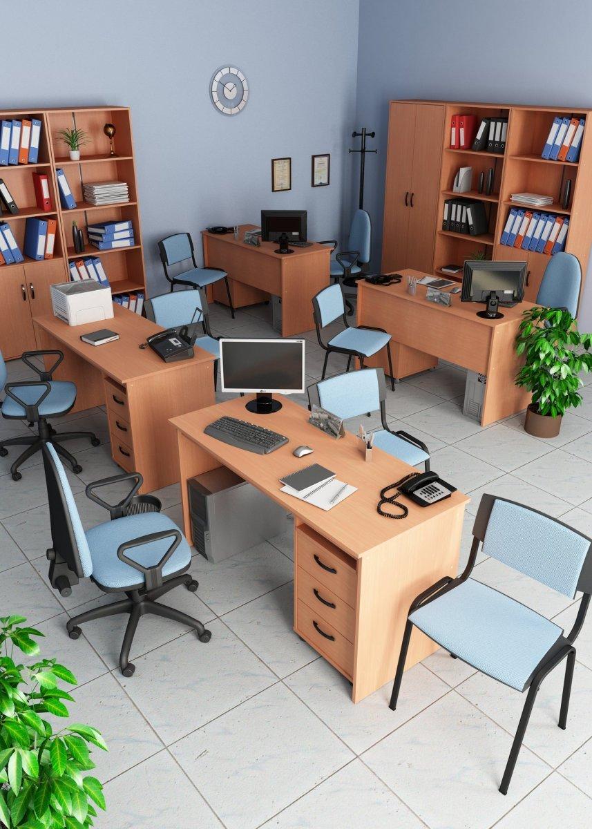 Кабинет для персонала Омега 2 (на 4 чел) - доп. фото