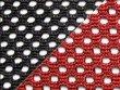 Сетка чёрный/красный