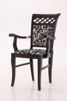 Деревянный стул Флоренция Т (с подлокотниками)