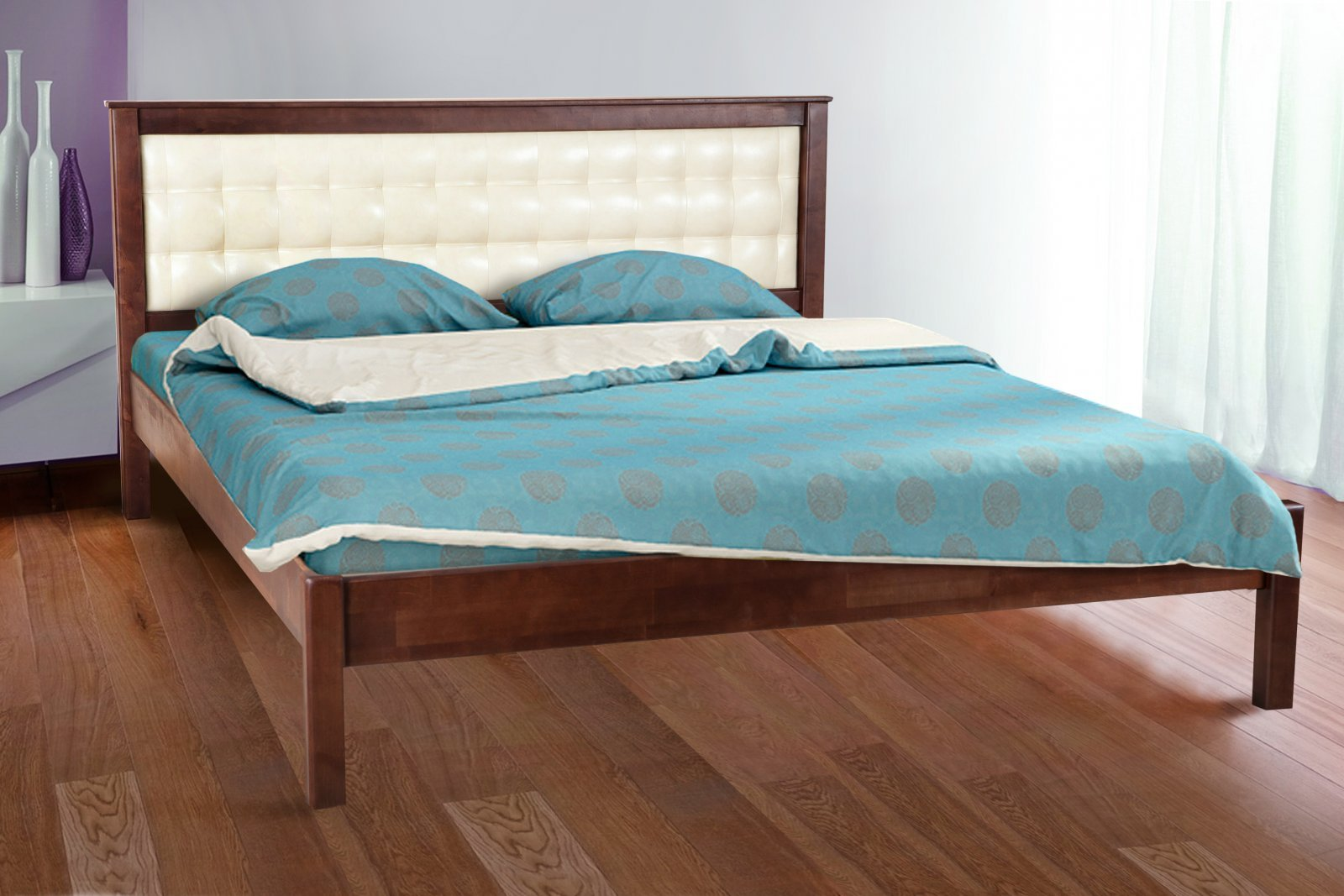 Фото - Кровать двуспальная Карина (магкая)