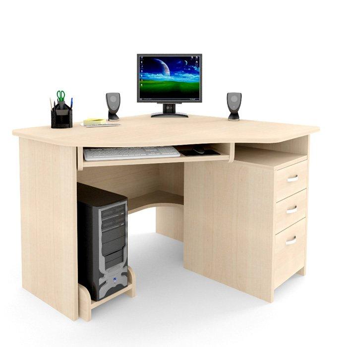 Фото - Угловой компьютерный стол С 215