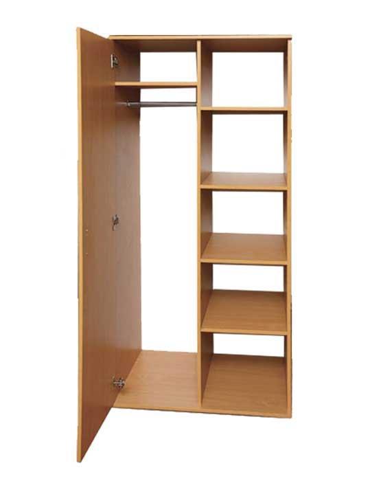 Шкаф полузакрытый для одежды и книг - к-мебель. цена, купить.