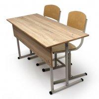 Комплект «ГАРАНТ» регулируемый с двумя стульчиками