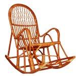 Кресло качалка из лозы KK-1
