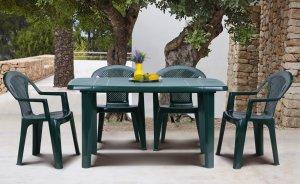 Комплект: стол Sorrento и стул Ischia