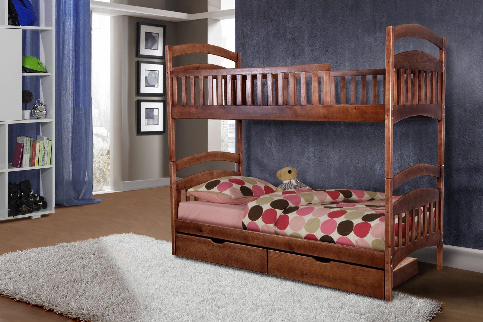 Фото - Кровать двухъярусная Кира