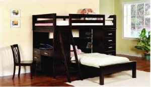 Кроватка детская двухъярусная ДПЛ-21