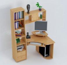 компьютерный стол С815 - ольха