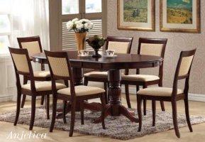 Стол Анжелика (1,5м) + стулья Клэр