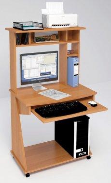 Фото - Компьютерные столы С-555 с надстройкой 824