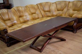 Фото - Раскладной стол журнальный-обеденный (Натуральный дуб) Bigus