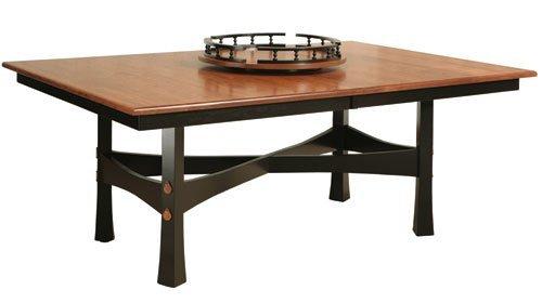 Фото - Стол обеденный деревянный СТ-7