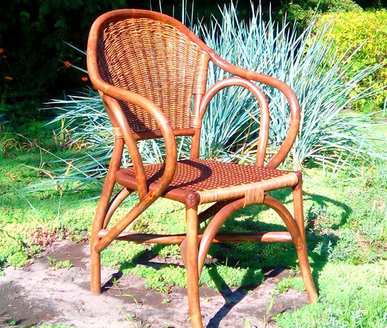 Фото - Кресло из ротанга Техас