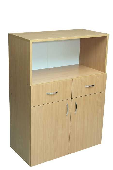 Фото - Шкаф низкий с ящиками и нишей (29901)