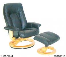 Кресло кожаное люкс Mercury