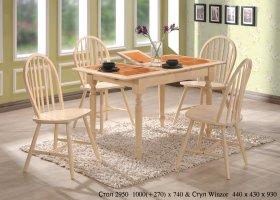 Стол СТ2950 и стулья Winzor