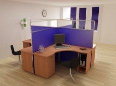 Фото - Офисный стол 12