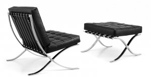 Кресло + оттоманка Барселона