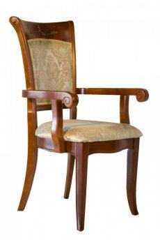 "Фото - Деревянное кресло Classic 4020 ""обивка А"""
