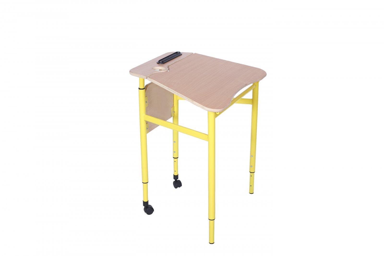 Фото - Стол трапецеподобный мобильный с регулировкой угла наклона столешницы, №3-5 (70341)