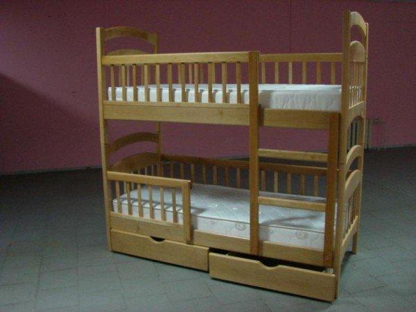 Фото - Двухъярусная кровать-трансформер Карина-люкс