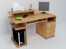 Компьютерный стол С511 - ольха