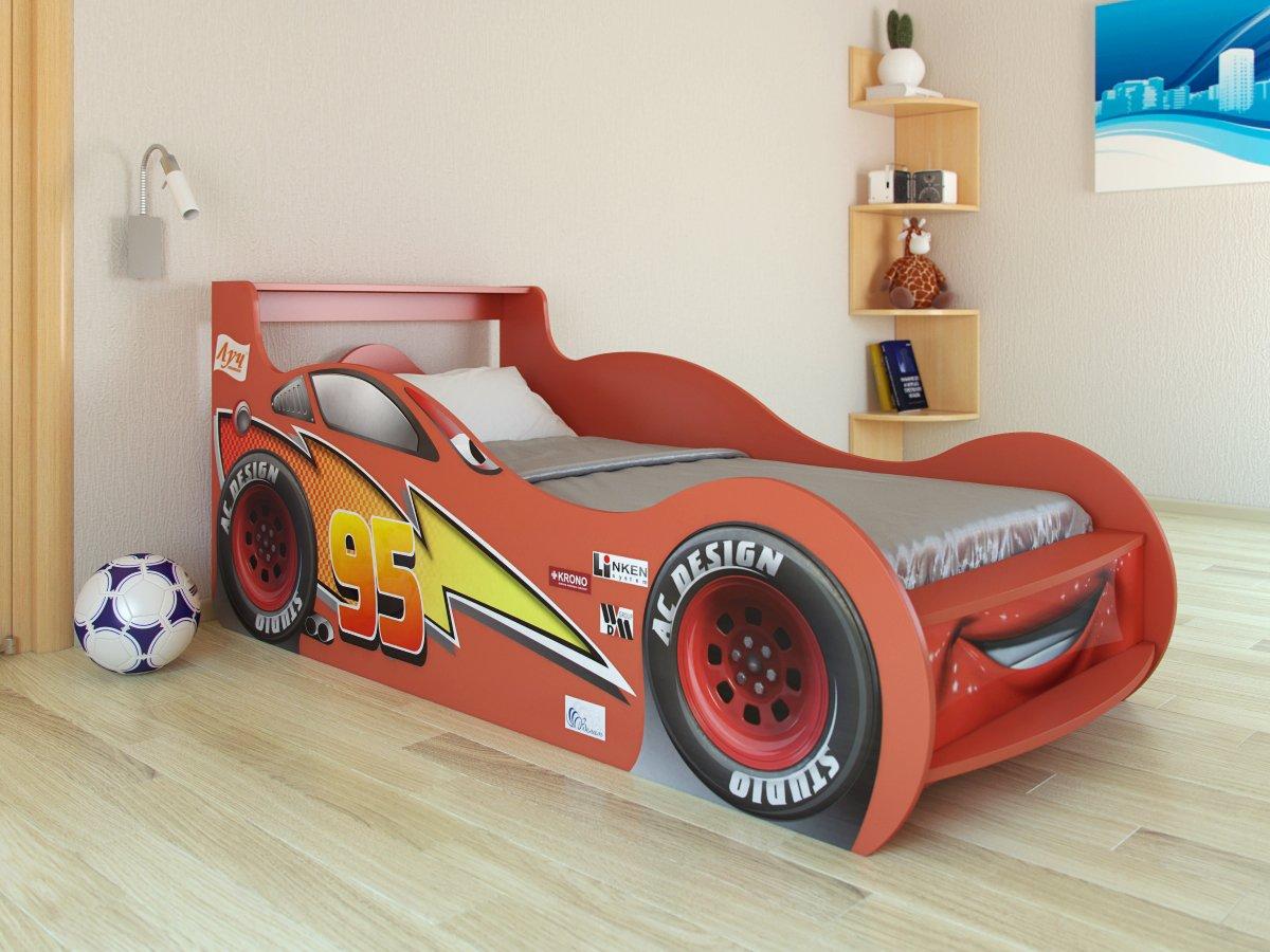 Кровать машинка для детей фото
