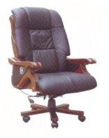 Кресло кожаное BOSS-103 Y-015 recliner