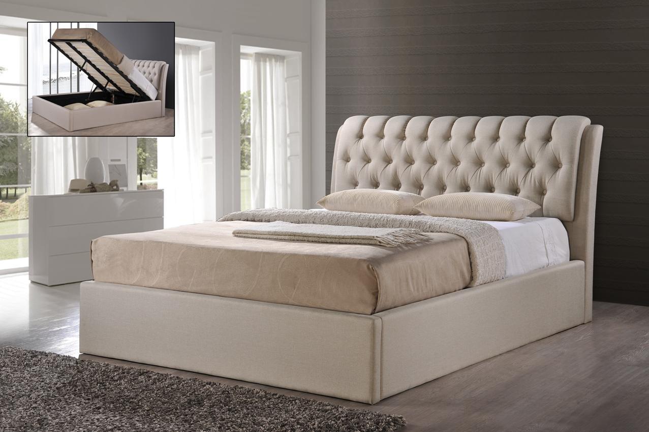 Фото - Кровать с подъемным механизмом Кэмерон