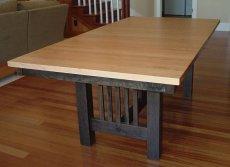 Фото - Обеденный деревянный стол СТ-21