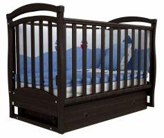 Детская кроватка Соня ЛД 6 маятник