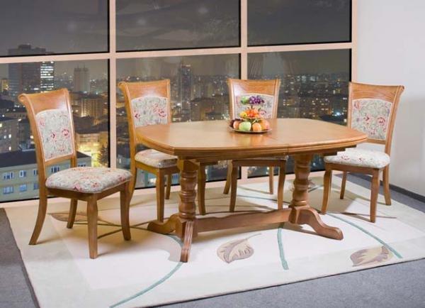 Фото - Стол обеденный деревянный F1