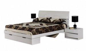Фото - Кровать с ящиками Неаполь