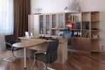 Серия офисной мебели Консул: кабинет руководителя Консул