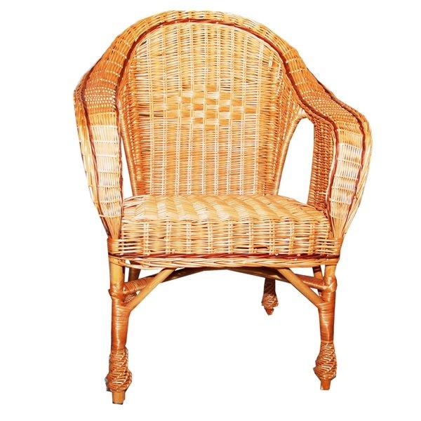 Фото - Кресло из лозы КО-7
