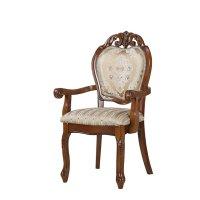 Стул-кресло 8042 обивка F, цвет орех