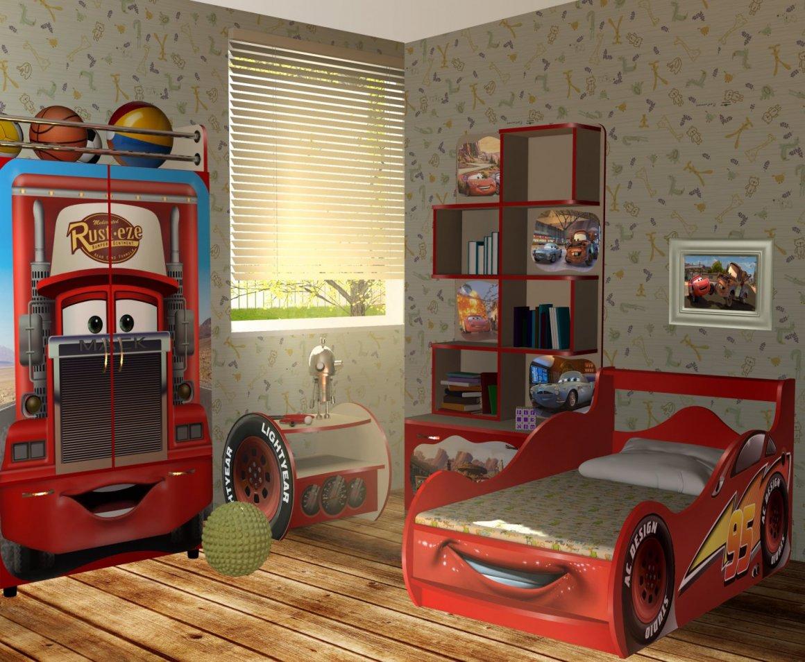 Детская комната Молния Мак Вин - доп. фото